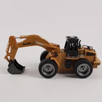 Bagr na ovládání deAO Toys 6 Ch Excavator