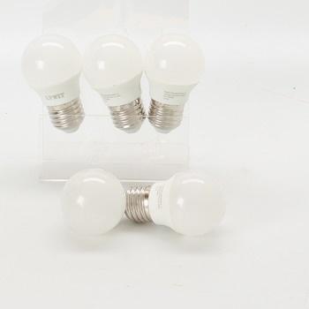 Sada LED žárovek LVWIT G45 E27 5W 6ks