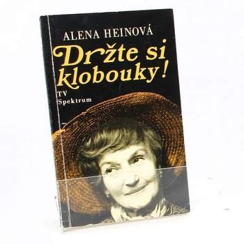 Kniha Držte si klobouky! Alena Heinová