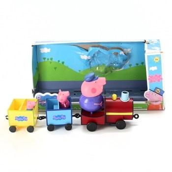 Vláček s figurkami Giochi Preziosi Peppa Pig