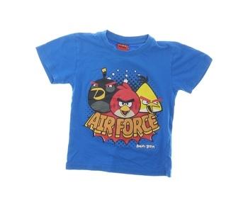 Dětské tričko Angry Birds Air Force modré
