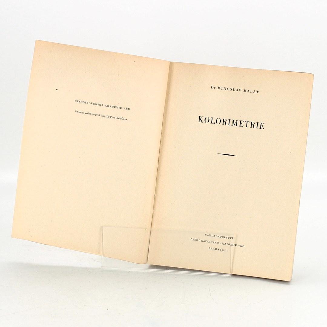 Kniha Miroslav Malát: Kolorimetrie