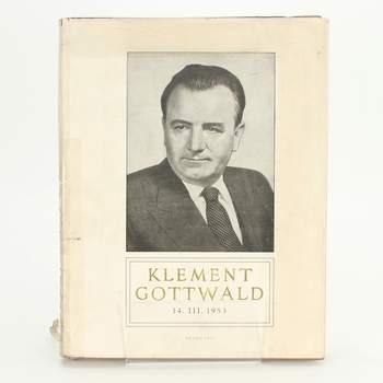 Kniha Klement Gottwald Ústav dějin KSČ
