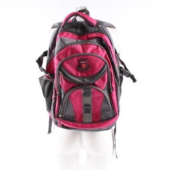 Dámský batoh Newberry šedo růžový