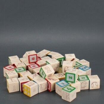 Dřevěné kostky Melissa & Doug 11900