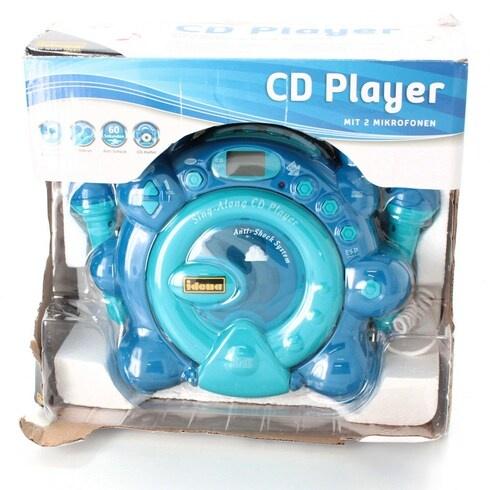 CD přehrávač s mikrofony Idena SING-A-LONG