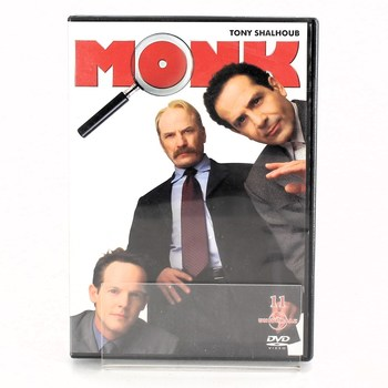 DVD Monk 11: Pan Monk a letadlo