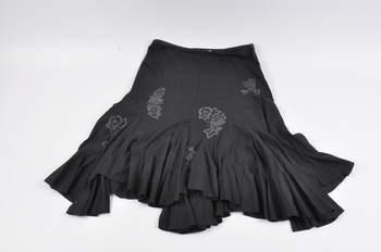 Dámská sukně Promod s výšivkami