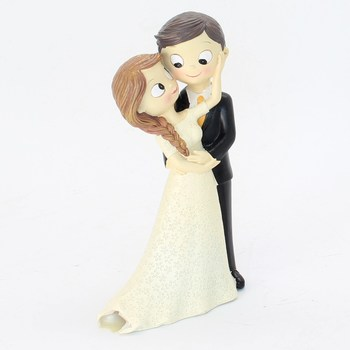 Figurky na svatební dort Mopec Y491