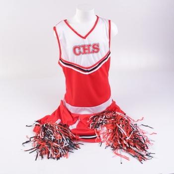 Cheerleader Smyffis odstín červené
