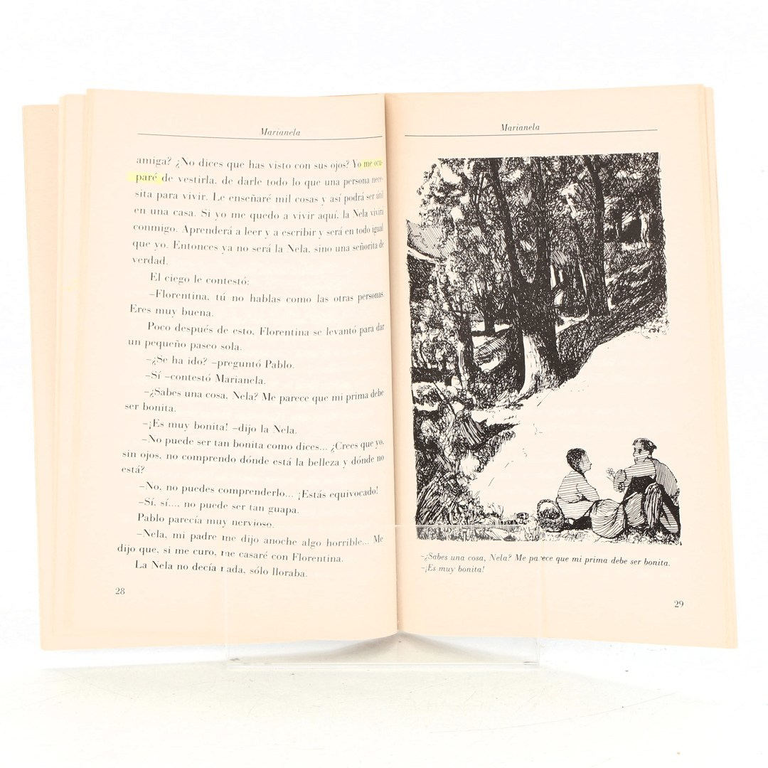 Kniha Marianela Benito Pérez Galdós