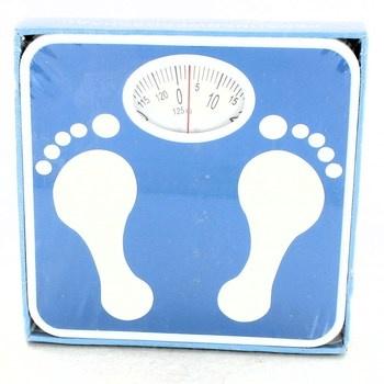 Mechanická váha Rossmann modrá