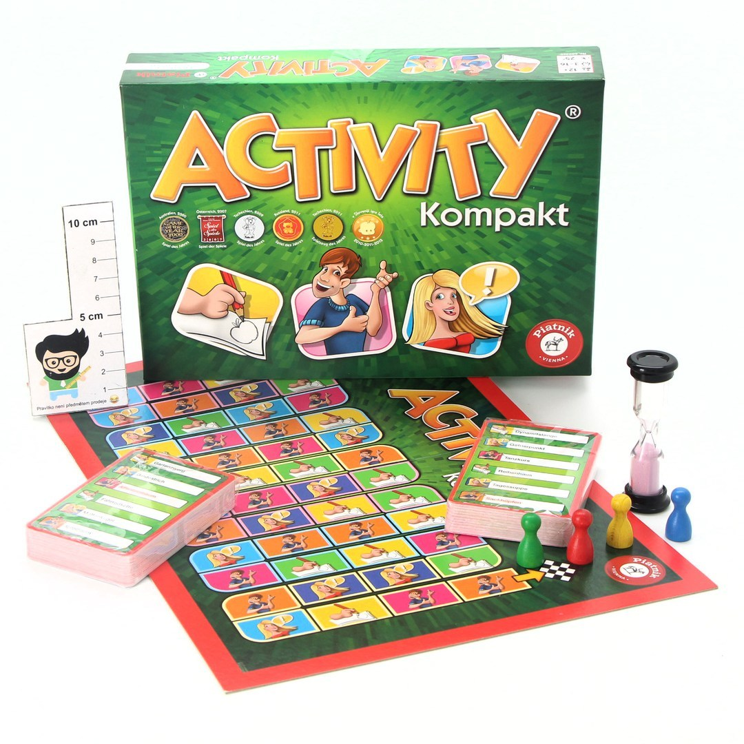 Společenská hra Piatnik Activity Kompakt