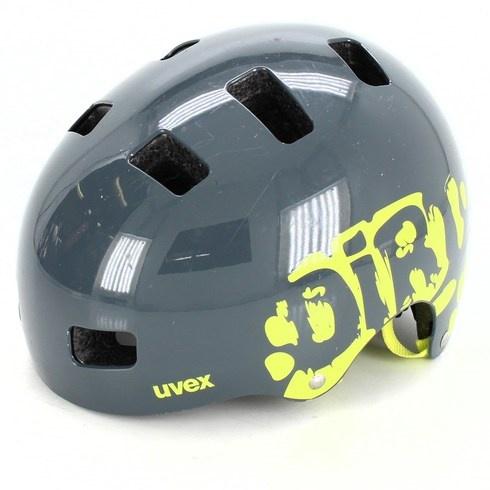 Dětská helma Uvex Kid 3 šedá, vel. 51-55 cm