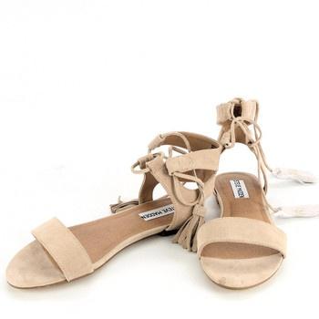 Dámské sandále Steve Madden béžové