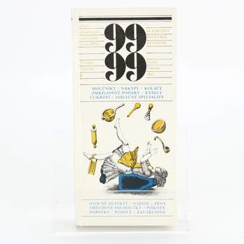 Kniha 99 sladkostí sovětské kuchyně Dufek