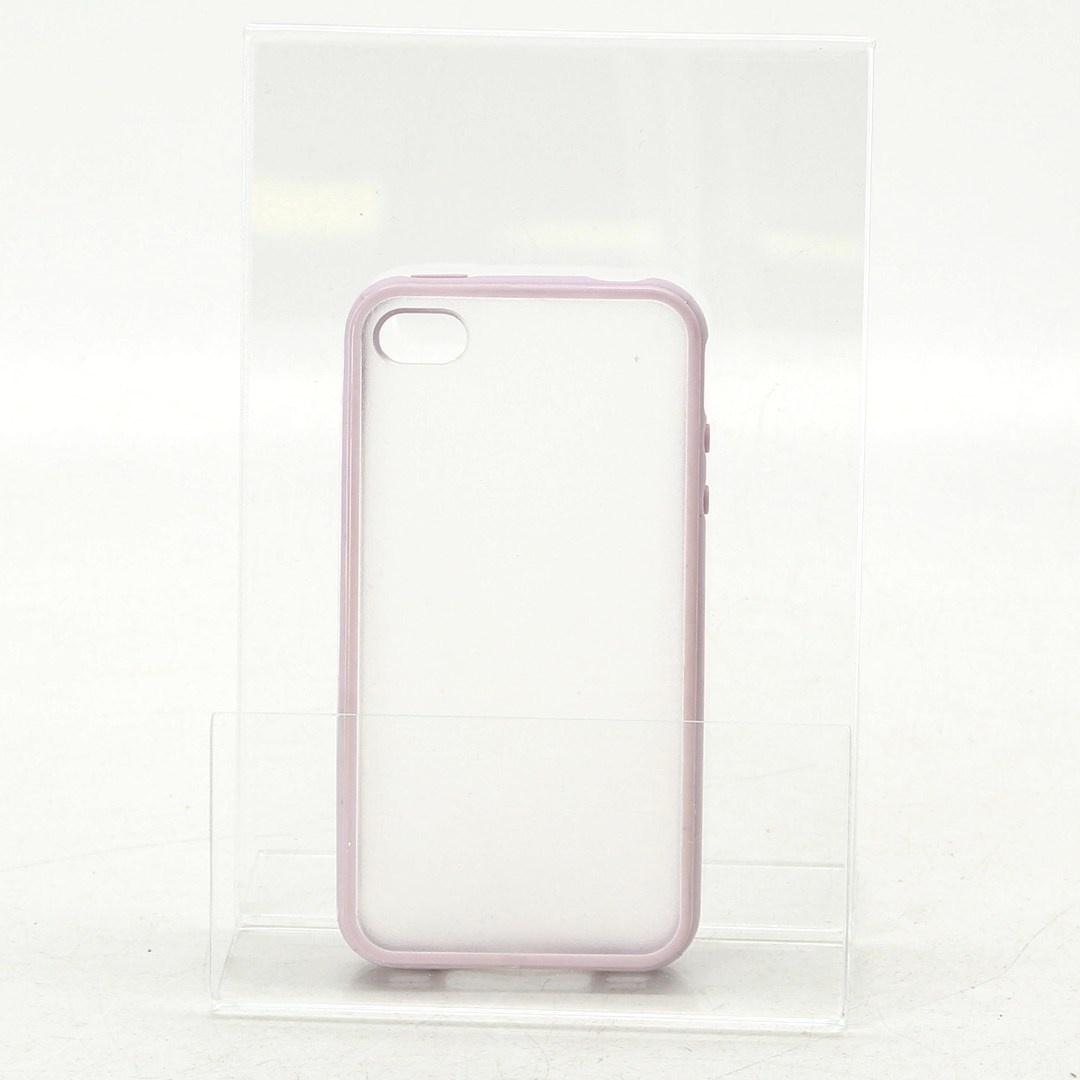 Ochranný kryt iPhone 4S světle fialový