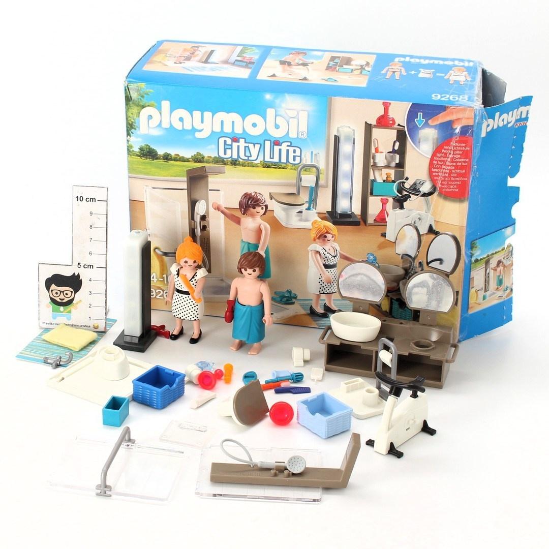 Dětská stavebnice koupelna Playmobil 9268
