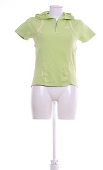 Dámské tričko Benters kapucí zelené