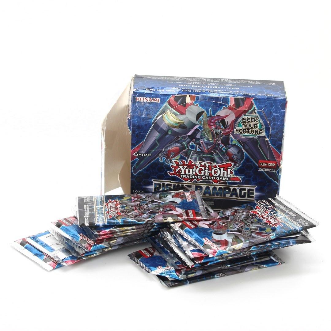 Sběratelské karty Konami Konrira 24 sáčků