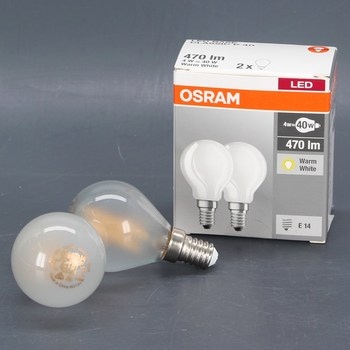 Set LED žárovek Osram Base Classic P40 2 ks