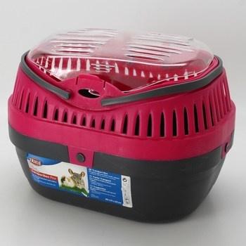 Transportní box Trixie červeno-černý