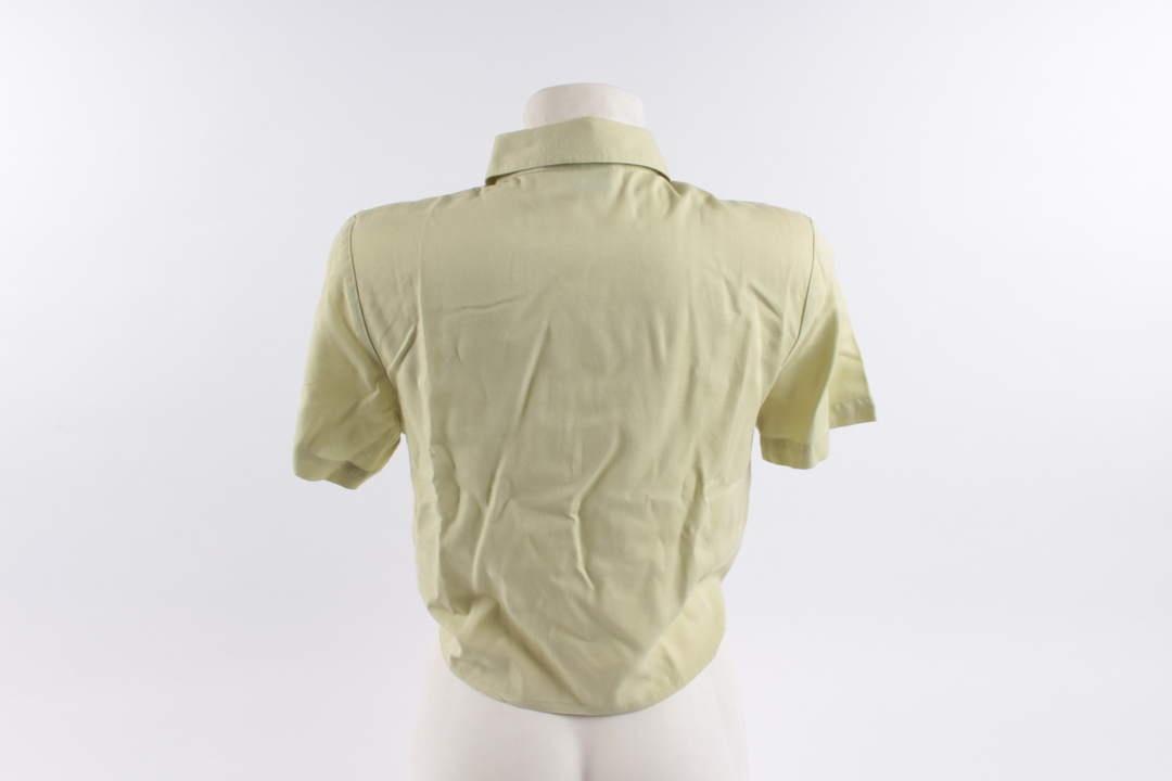 Dámská košile De Ville zelená na uvázání