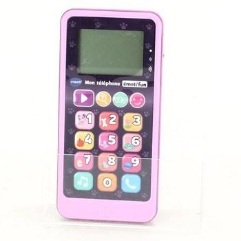 Dětský telefon Vtech Emoti Fun 80-603755