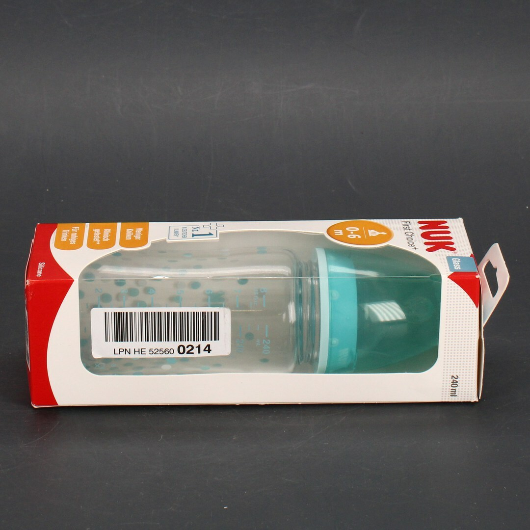 Kojenecká lahev Nuk First Choice hvězdičky