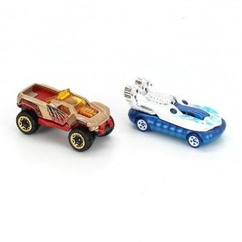 Autíčka Hot Wheels různobarevná 4ks