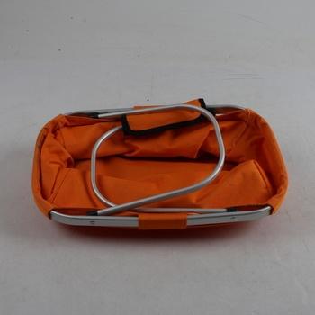 Skládací košík Halfar oranžový