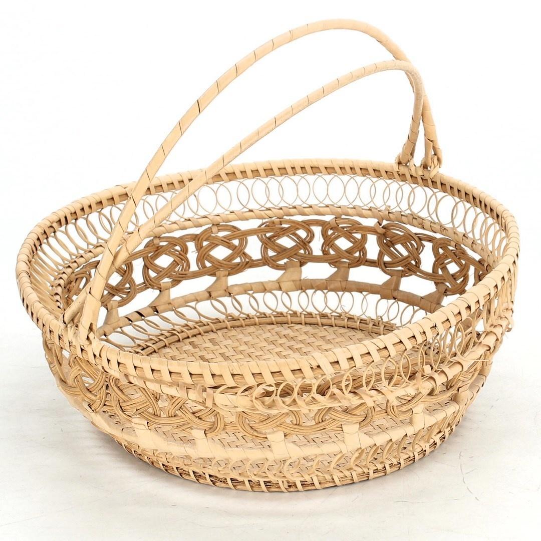 Dekorativní košík průměr 25 cm