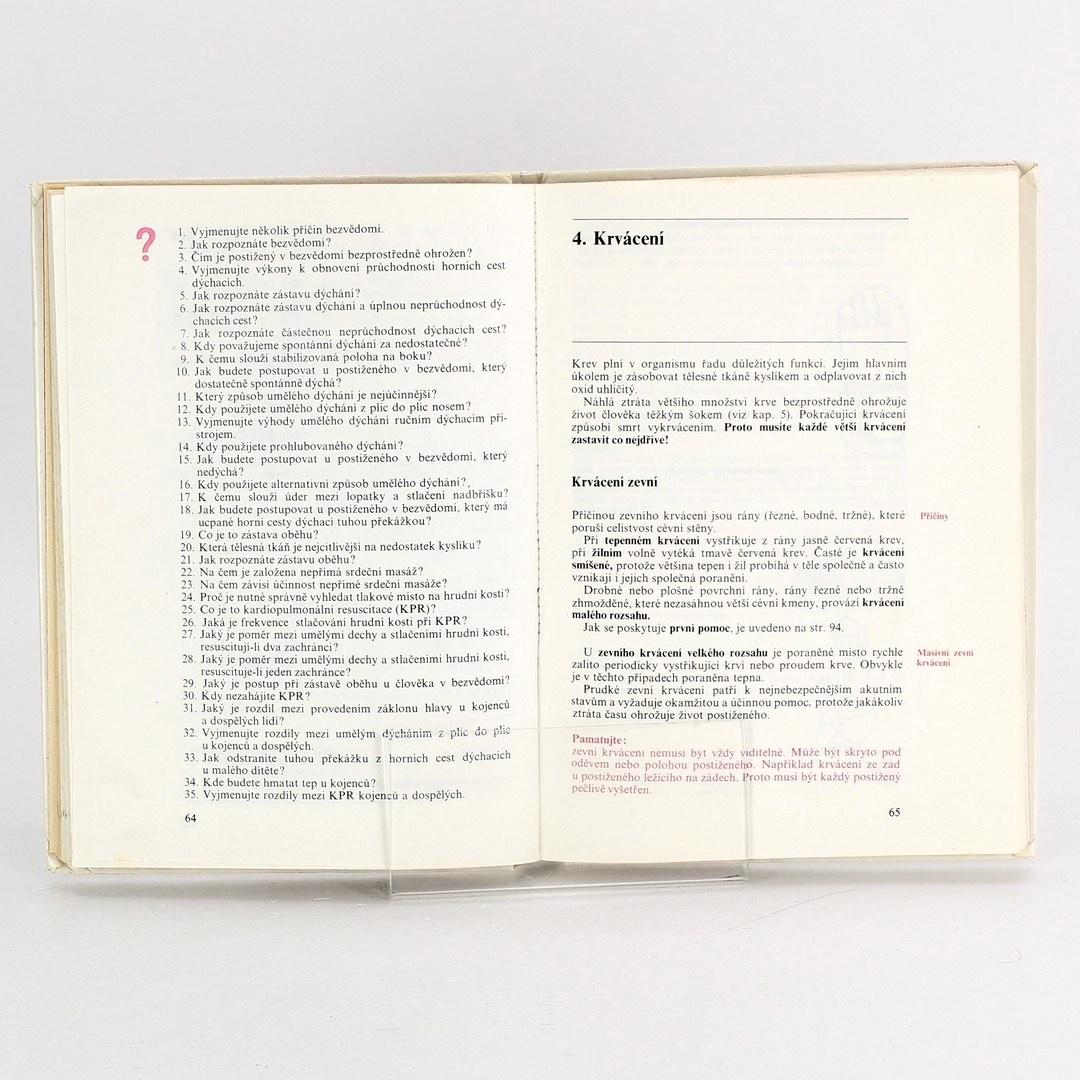 Kniha První pomoc
