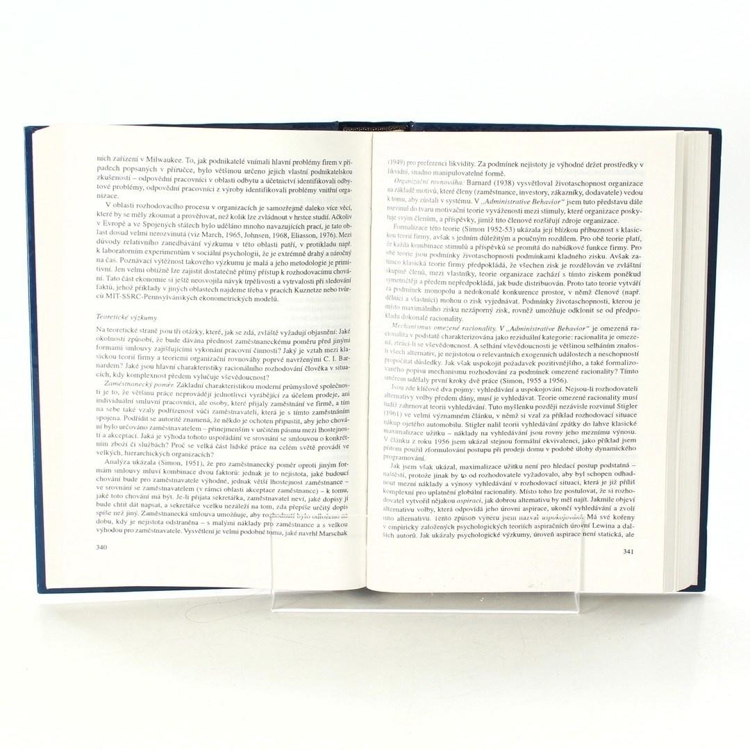 Kniha Jiří Jonáš: Oslava ekonomie