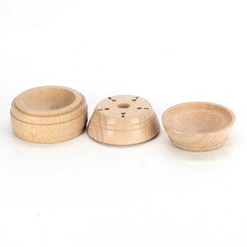 Dřevěný hlavolam pro děti