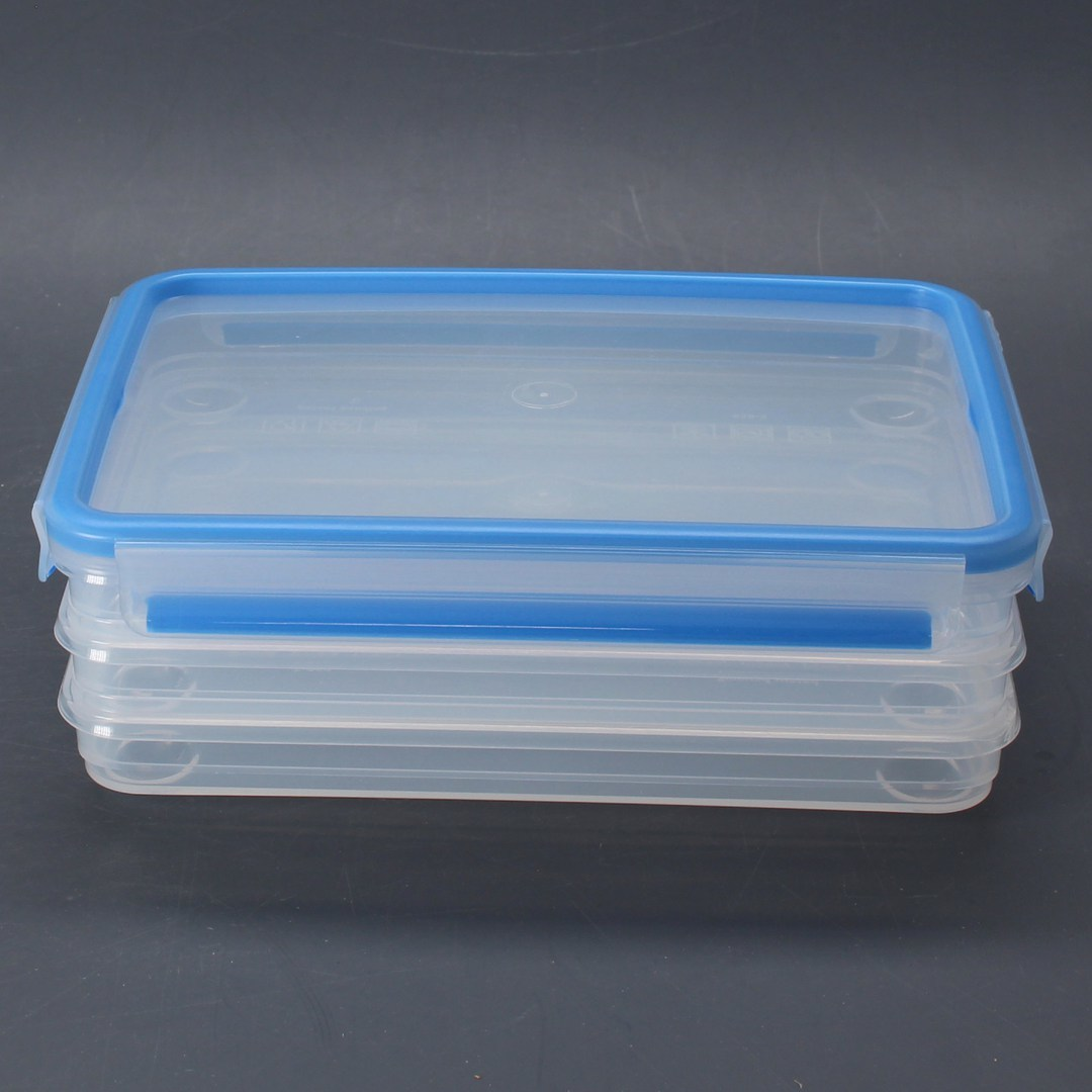 Plastové boxy Emsa 508556 Clip & Close 3 ks