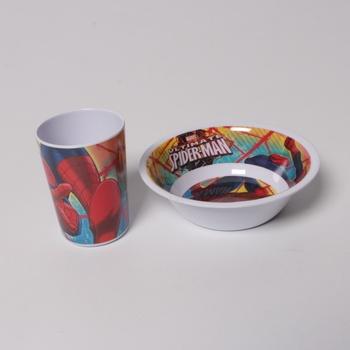 Dětská snídaňová sada Spider Man 33490