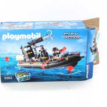 Stavebnice Playmobil 9362 City Action člun