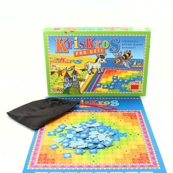 Dětská desková hra DINO Kris Kros