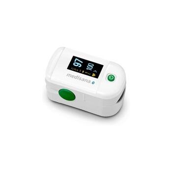 Pulzní oxymetr Medisana s OLED displejem