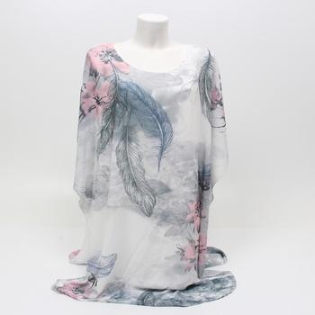 Dámské letní šaty s květinovým motivem