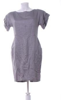 Dámské večerní šaty F&F šedé hladké