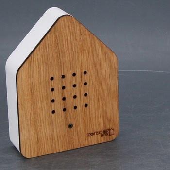Skříňka se senzorem Zwitscherbox zvuky ptáků