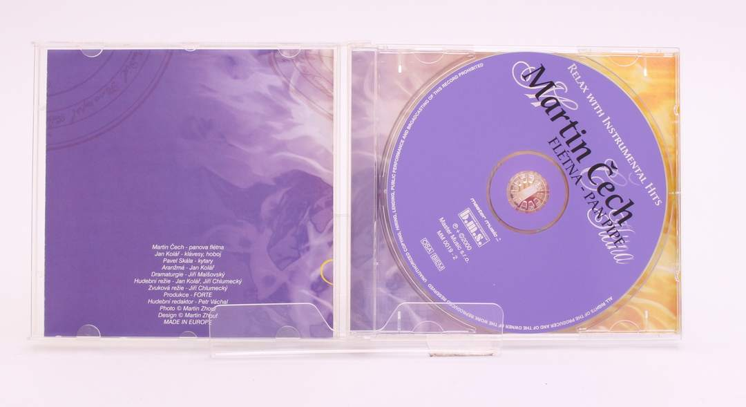 CD Martin Čech - Flétna Pan Pipe
