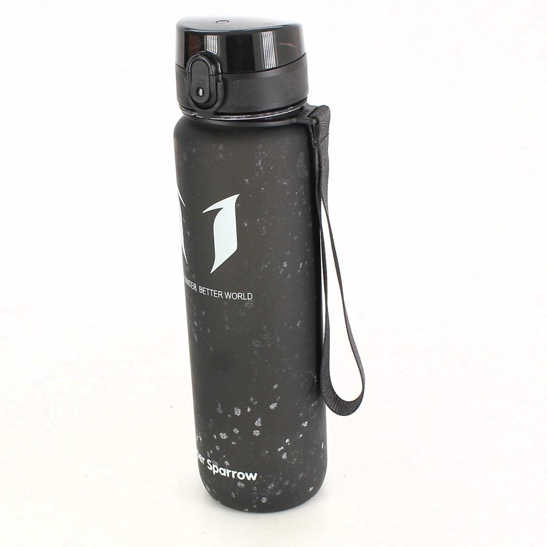 Sportovní lahev Super Sparrow černá