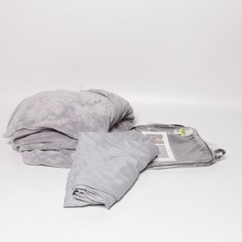 Deka a letní povlak SCM 150x200 cm šedé
