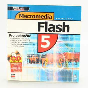 Kniha Flash 5 - pro pokročilé