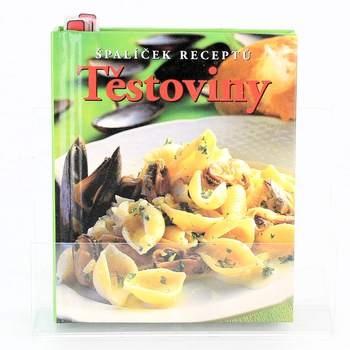 Kniha Těstoviny špalíček receptů