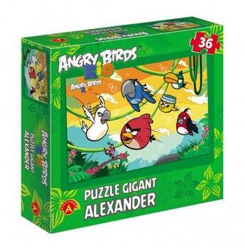 Dětské puzzle Alexander ANGRY BIRDS RIO