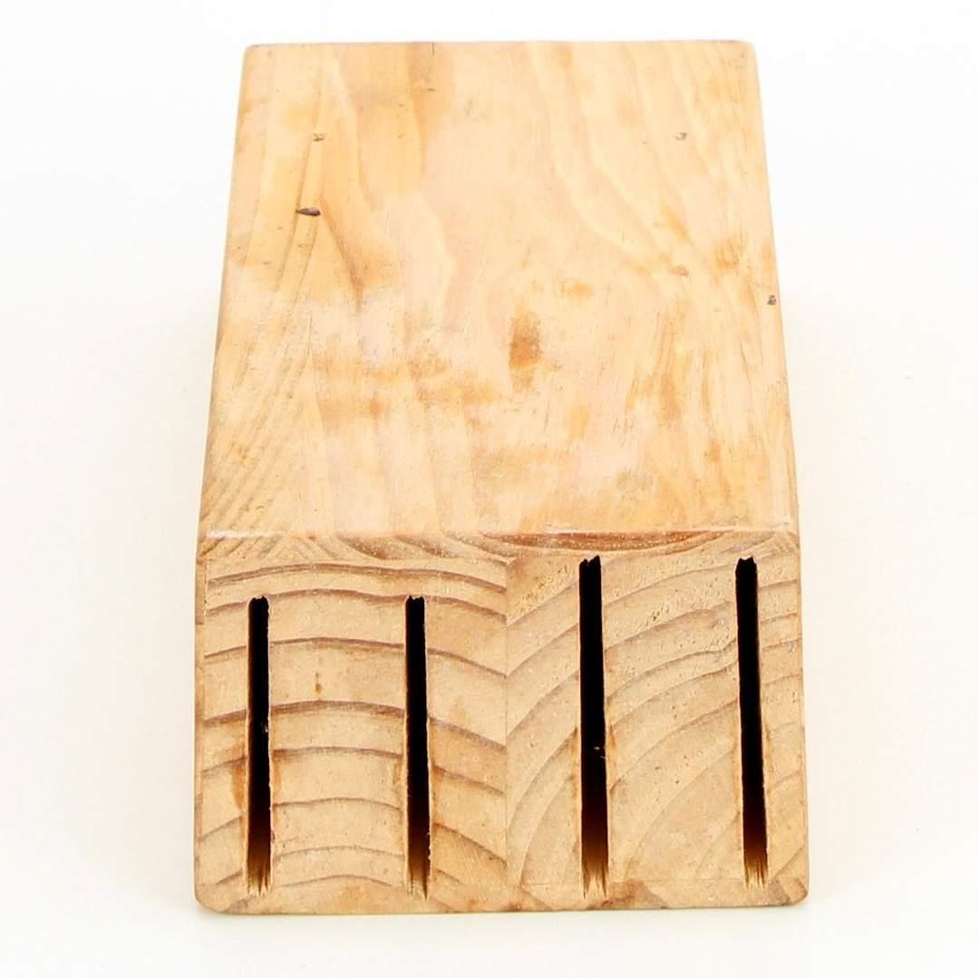 Blok na nože dřevěný